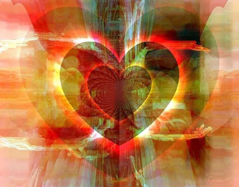 картинка сердце открыто